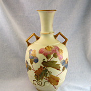 SALE New York & Rudolstadt Pottery Vase