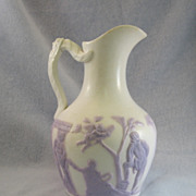 SALE English Lavender & White Pitcher