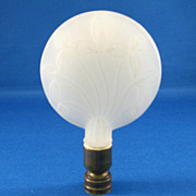 SALE Aladdin Millefleur White Moonstone Finial