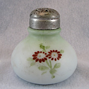 SALE Victorian Milk Glass Shaker