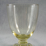 SOLD Heisey Sahara Carcassonne Cordial Glass