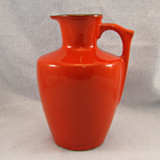 SALE Frankoma Flame Honey or Syrup Jug