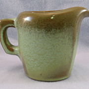 SALE Frankoma Westwind Prairie Green Creamer