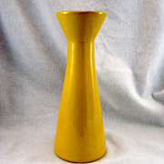 SALE Frankoma Autumn Yellow Bud Vase