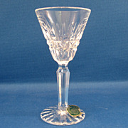 SALE Waterford Sherry Glass