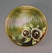 Nippon Bowl With Matte Finish With Glazed Flowers