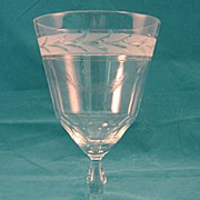 SALE Swedish Goblet Made By Kosta 1940's