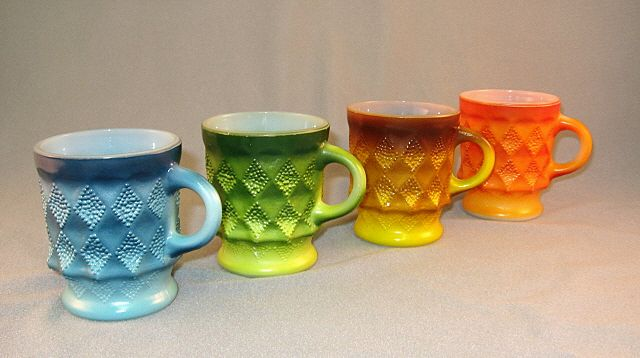 4 Kimberley Fire King Mugs