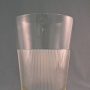 SALE Hazel Atlas MixsServ Kar Lac Soda Fountain Glass