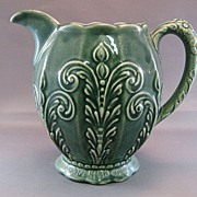 SALE Blue Ridge Green Martha Pitcher