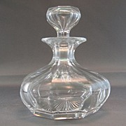 SALE Hawkes Flute Pattern Bottle or Cologne