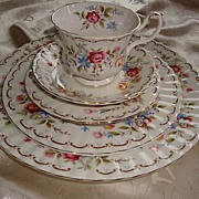 REDUCED Royal Albert  England Jubilee Rose 5-Piece Place Settings ~ UNUSED