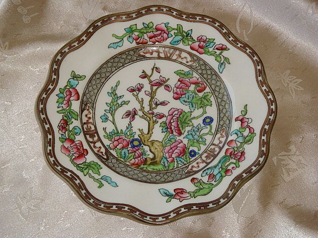 Coalport Indian Tree Scalloped Salad Plates