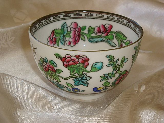 Coalport Indian Tree Smooth Edge Open Sugar ~ HTF
