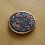 SOLD Stratton Art Nouveau Petit Point Compact