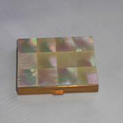 REDUCED Marhill Mother of Pearl Compact