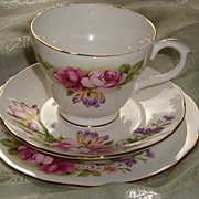 REDUCED Duchess England Trios ~ Elegance Pattern