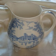 Queens Castle Milk / Cream Jug by Alfred Meakin