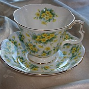 Royal Albert Cup and Saucer Nell Gwynne Series � Drury Lane