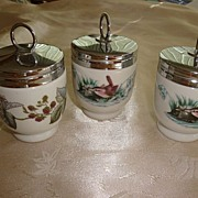 REDUCED Royal Worcester England Egg Coddlers