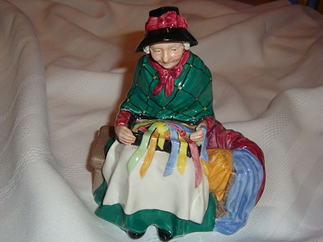Royal Doulton Silks and Ribbons Porcelain Figurine ~ HN2017