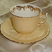 Aynsley Cup and Saucer Set - English Bone China