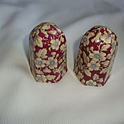 Royal Albert Chintz Royal Brocade Salt & Pepper