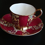 Royal Albert ROYAL BROCADE Tea Cup and Saucer