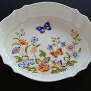 Vintage Aynsley COTTAGE GARDEN Sweet Meat Dish