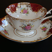 Royal Albert Empress Series CATHERINE Tea Cup and Saucer