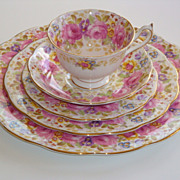 Royal Albert SERENA 4-Piece Place Settings + Completer Pieces