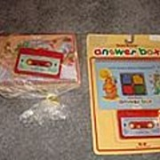 Teddy Ruxpins Answer Box and NRFB Tape and Book Etc.