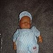 "MIB 12"" Wind Up Lissi Baby Boy Doll"