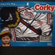 SALE NRFB Talking Corky's Star Ship Outfit by Playmates