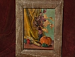 JOHN SOBLE (1893-1993) American art autumn harvest still life painting