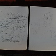 JOHN EDWARD HELIKER (1909-2000) **two** pencil signed limited edition lithographs by important