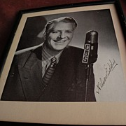 Hollywood memorabilia NELSON EDDY signed black and white photo circa 1940's