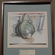 After PAUL CEZANNE (1839-1906) lithograph still life print limited edition