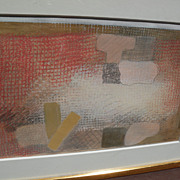 ROBERT NATKIN (1930-2010) mixed media drawing by the noted contemporary American abstract expr