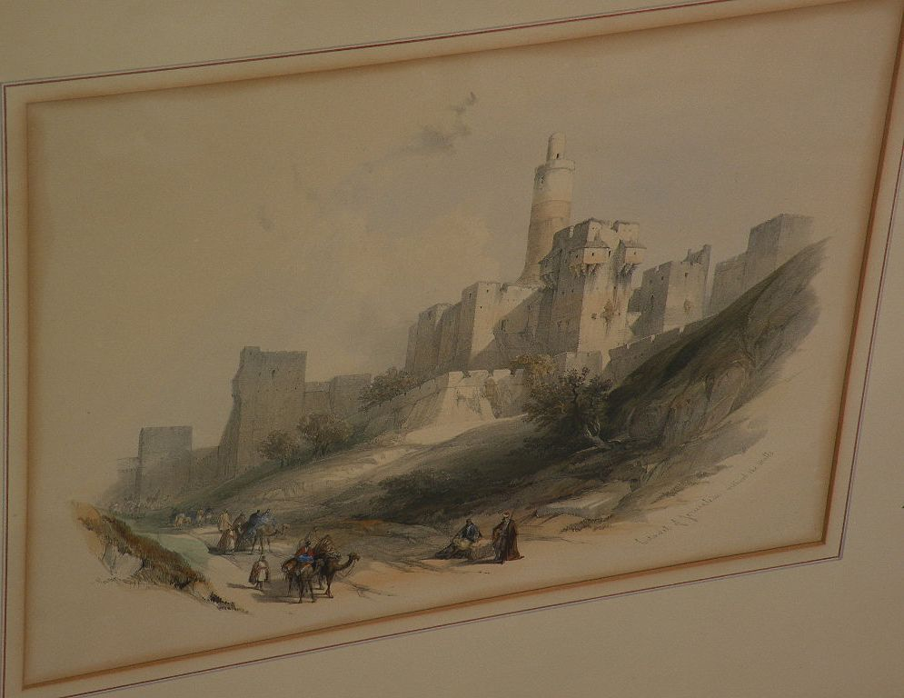 DAVID ROBERTS **PAIR** of 19th century orientalist art subject matter prints