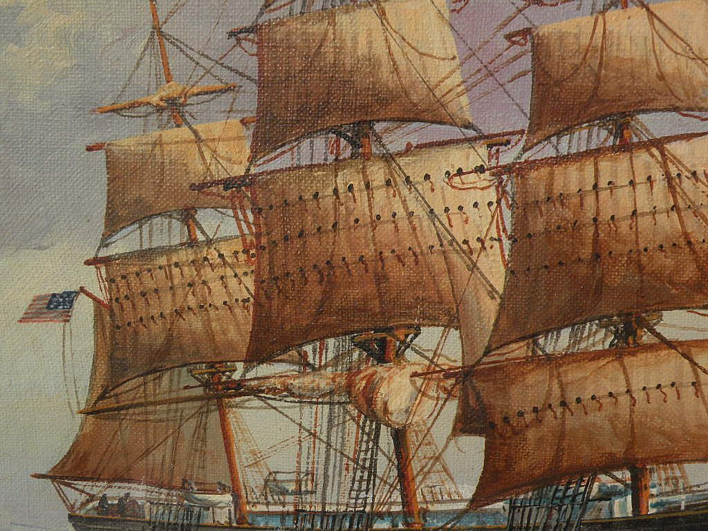 famous clipper ship paintings
