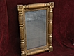 American antique mid 19th century mirror