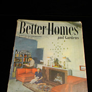 Vintage March 1948 Better Homes and Gardens Magazine