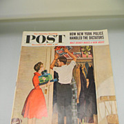 Vintage December 1960 Saturday Evening Post Magazine