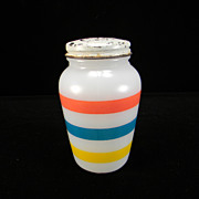 Anchor Hocking Stripes Salt Shaker