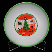 Rare 1950's - 1960's Federal Christmas Plate