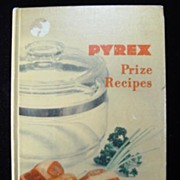 1953 Pyrex Prize Recipes Cook Book