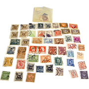 SALE Antique 1800s to early 1900s era lot of used cancelled stamps from Austria