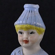 "SALE Vintage, (Circa 1900) German, Bisque, ""Little Squirt"", Naughty / Naughtie - Ado"