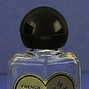 "SALE Circa 1944, American, �French Fragrance No. 4"", By Corot, Clear Glass, Deco Style, M"